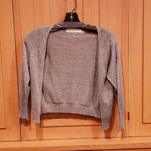 Zara cropped shimmering sweater